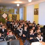 Во время лекции в МБОУ СОШ с.Урняк