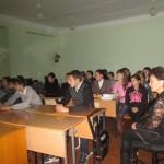 Во время леции в МБОУ СОШ с.Аблаево
