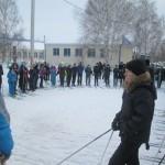 Открытие массовой лыжной гонки