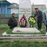 Возложения венка с.Кусекеево