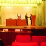 Вручение удостоверений депутатам