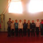 Участники спортивного мероприятия 6 класс